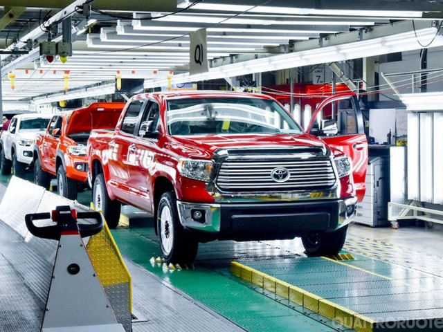 Toyota - Investimenti da 663 milioni di euro negli Usa