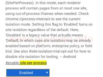 Chome per Android più sicuro con Site Isolation ora attivo di default