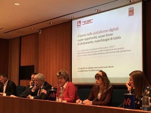 Camusso: lavoro nelle piattaforme digitali non riconosciuto