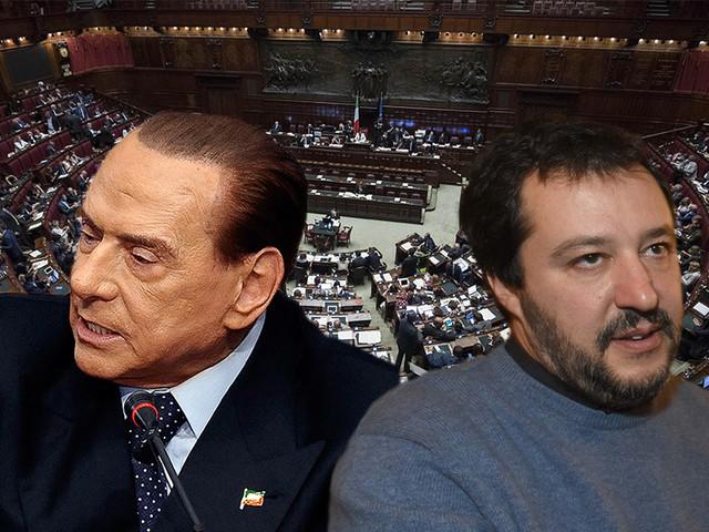 """Mes, Lega in 'tackle' su Berlusconi: """"FI contro l'interesse nazionale"""""""