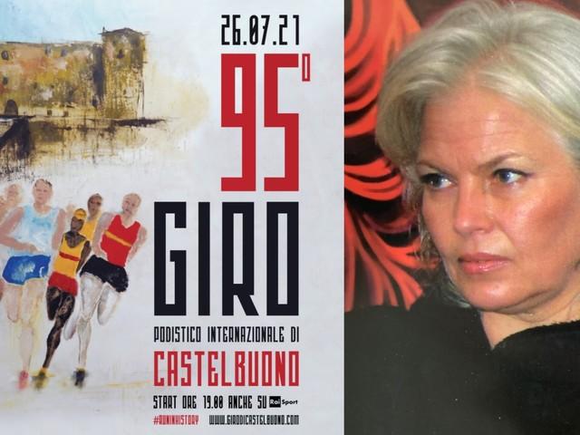 95° Giro podistico Internazionale di Castelbuono, il manifesto è a cura della monrealese Giuseppa D'Agostino