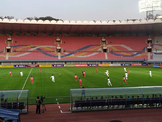 Come è finita la partita di calcio tra le due coree a Pyongyang