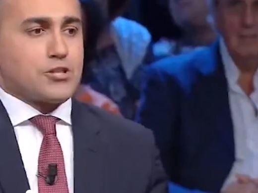 """Di Martedì, c'è Salvini in studio e Di Maio va subito via """"Matteo? Salutatelo voi"""""""