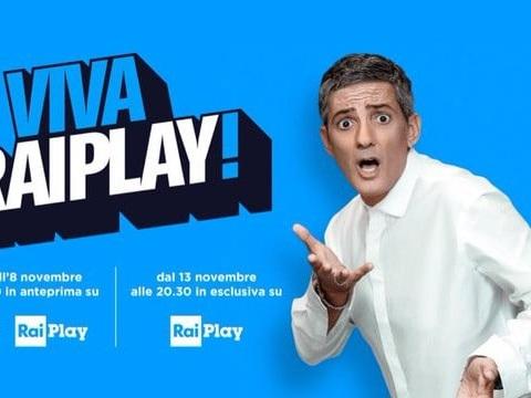 Lo show di Fiorello inaugurerà il nuovo servizio RaiPlay: sito e app si aggiornano e cambiano veste (video)