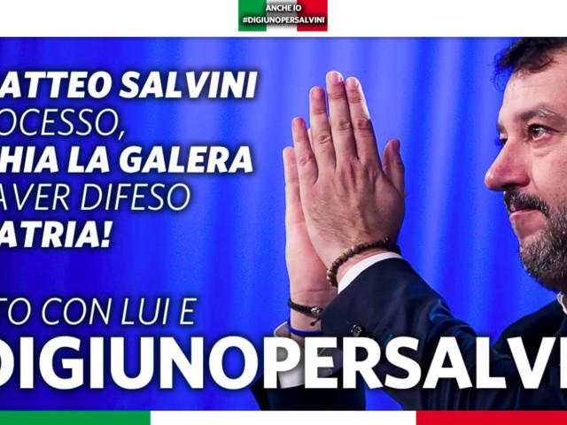 """Caso Gregoretti, la Lega lancia l'iniziativa """"Digiuno per Salvini"""""""