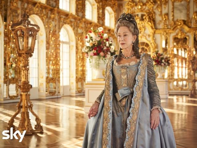 Cast e personaggi di Caterina La Grande su Sky dal 1° novembre: Helen Mirren di nuovo sovrana