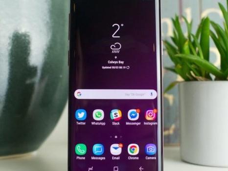 Segnalato in Europa l'aggiornamento di ottobre per il Samsung Galaxy S9: cruciale per la sicurezza
