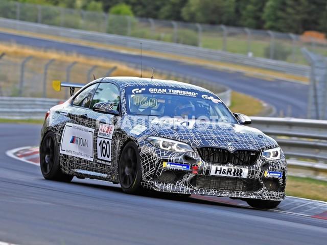 BMW M2 - La versione da corsa in pista al Ring