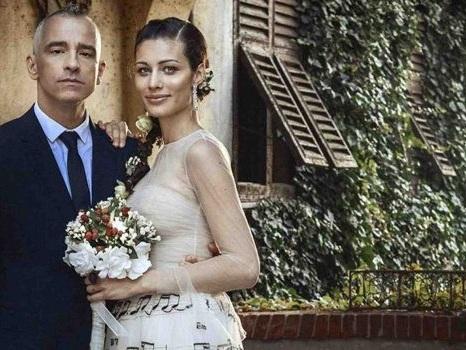 """Ufficiale l'addio tra Eros Ramazzotti e Marica Pellegrinelli, l'atteso annuncio della coppia: """"Dieci anni indimenticabili"""""""
