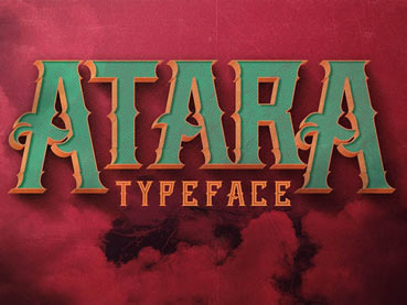 25 Stylish Vintage Fonts