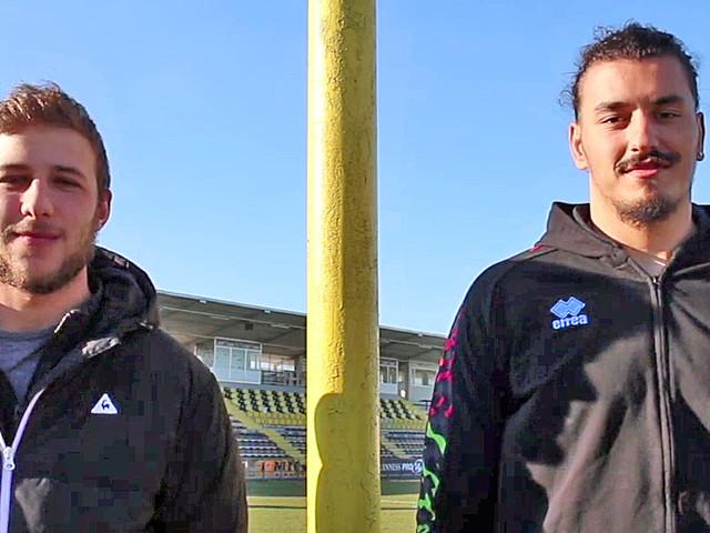 Krumov e Gelati, da promesse giallonere a protagonisti sabato nel rugby a Viadana