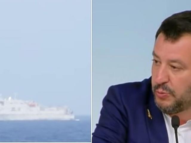 Ong Lifeline: nave Eleonore forza il blocco navale italiano, Salvini: 'Rispettare la legge'