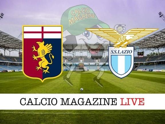 Genoa – Lazio 0-1: cronaca diretta live, risultato in tempo reale