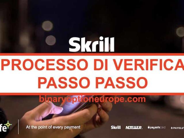Come verificare conto Skrill in Italia? Come inviare documenti? [Guida]