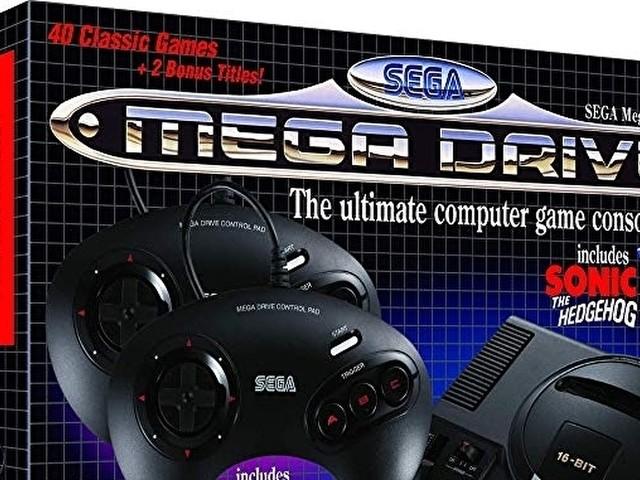 SEGA Mega Drive Mini è finalmente disponibile