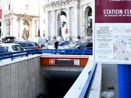 ?Metro Roma, ancora chiusa le stazione ?Repubblica