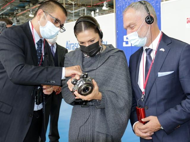 La Principessa Victoria di Svezia in visita a Torino e al polo industriale SKF di Airasca