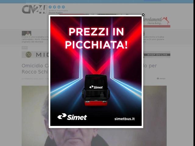 Omicidio Caccia, la Cassazione conferma ergastolo per Rocco Schirripa