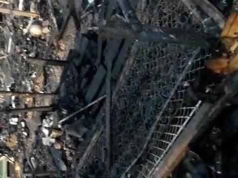 Samos, il campo distrutto dopo il rogo