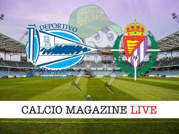 Deportivo Alaves – Valladolid: diretta live tv e risultato