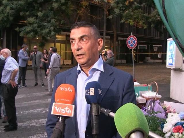 """Omicidio Cerciello, Serpi (Sim carabinieri) alla fiaccolata: """"Suo ricordo deve farci riflettere. Piacenza? Evento da non strumentalizzare"""""""