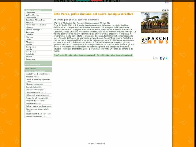 PR Migliarino San Rossore Massaciuccoli - Ente Parco, prima riunione del nuovo consiglio direttivo