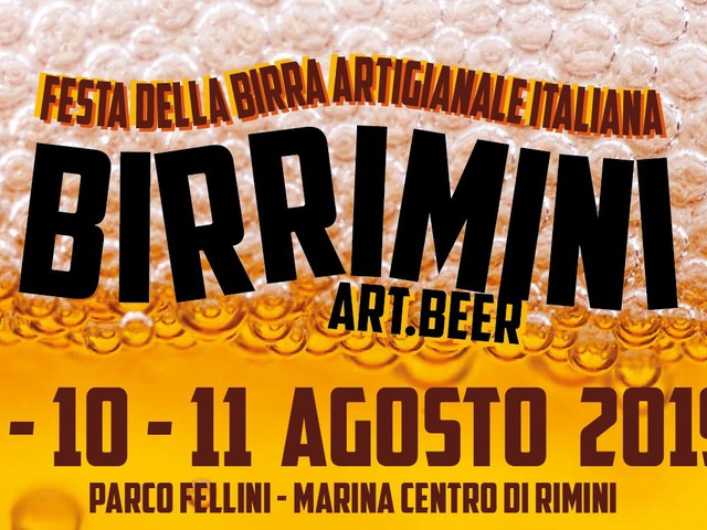 BirRimini 2019: festa della birra artigianale e dello street food a Rimini