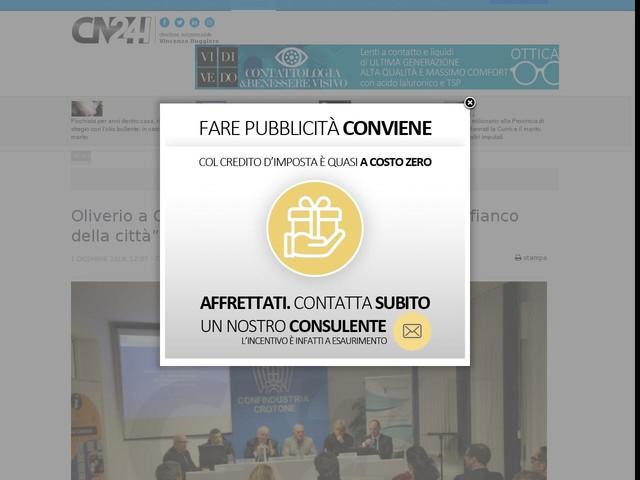 """Oliverio a Crotone: """"Il Governo regionale resta al fianco della città"""""""