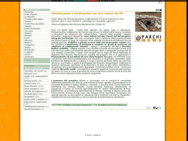 PR Migliarino San Rossore Massaciuccoli - Manutenzione e biodiversità: nel vivo i lavori del Pit