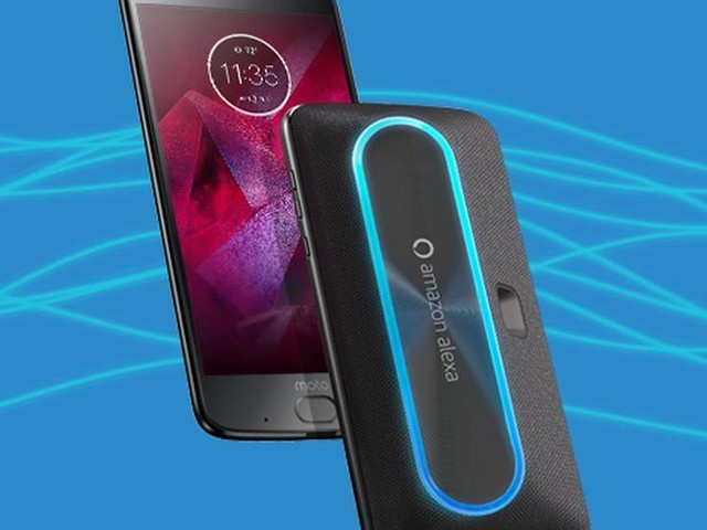 Smart Speaker con Amazon Alexa per i Moto Z