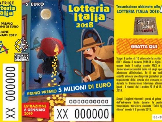 Soliti Ignoti Lotteria Italia, i biglietti vincenti