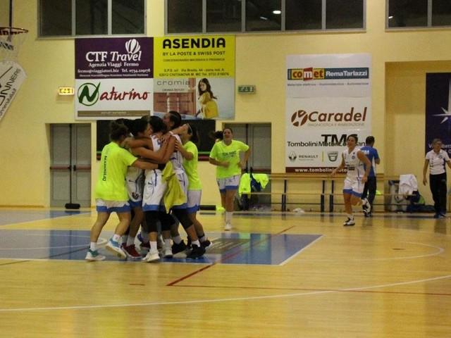 La Feba Civitanova ferma la capolista: vittoria contro la Nico Basket finora imbattuta
