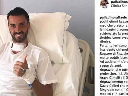 Genoa, Palladino: «Intervento riuscito. Torno presto»