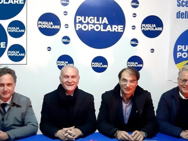 """Francesco Foresio nuovo coordinatore cittadino di Puglia Popolare, succede al consigliere Valente. Mazzei: """"No a doppi incarichi, esempio da seguire"""""""