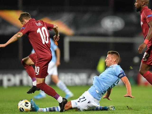 La Lazio parte male in Europa League