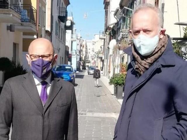 """Civitanova riceve la visita del Questore. Ciarapica: """"interdiremo le aree a maggior rischio se necessario"""""""