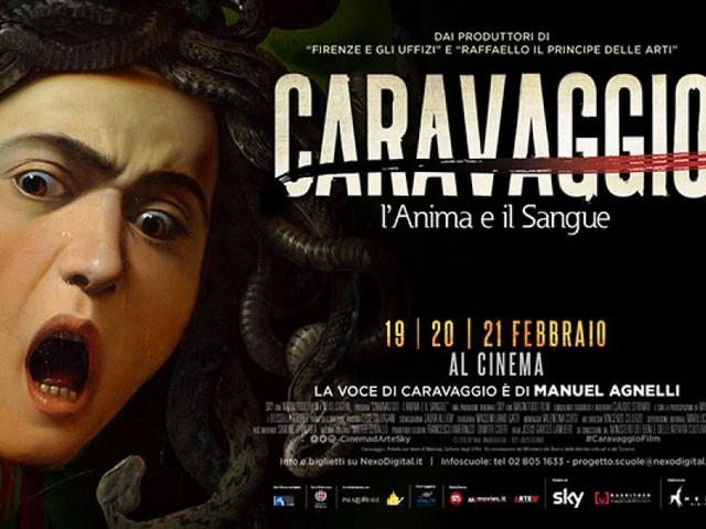 Caravaggio l'anima e il Sangue al cinema