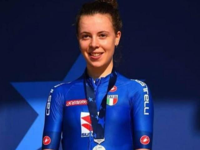 Corridonia, la favola di Eleonora Ciabocco: è argento agli Europei juniores di ciclismo