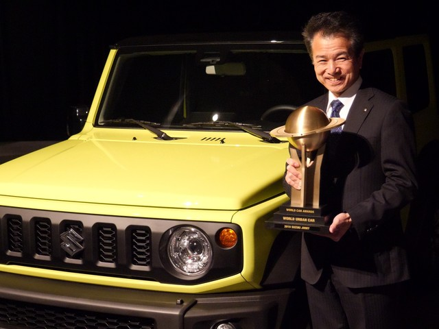 Suzuki Jimny: a lui il titolo di World urban Car 2019