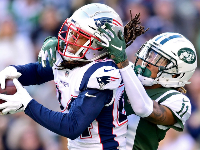Jets WR Robby Anderson Says Stephon Gilmore 'Gets Away' With 'A Lot' Of Holding