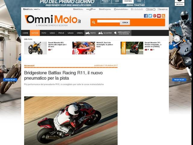 Bridgestone Battlax Racing R11, il nuovo pneumatico per la pista
