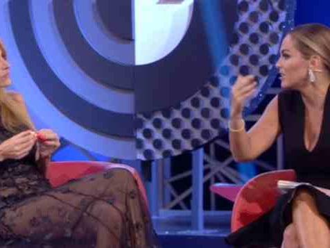GF VIP, Sonia Bruganelli e Adriana Volpe: il confronto in diretta dopo lo scontro social