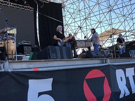 Backstage del concerto dei Nomadi, 55 anni alla Darsena di Rimini 24 giugno. Io c'ero e ve lo racconto