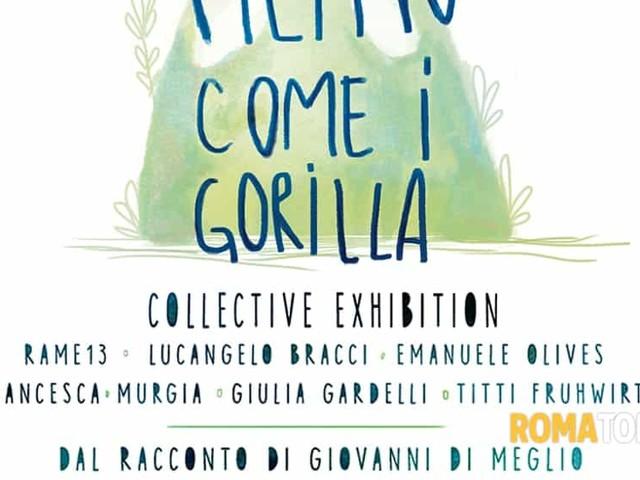 Filippo come i Gorilla, mostra collettiva d'arte