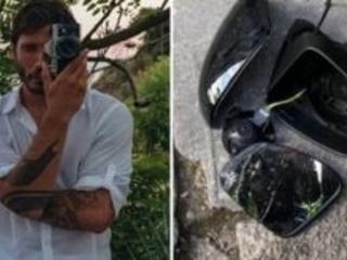 Stefano De Martino, la sua auto vandalizzata durante la festa scudetto dell'Inter. Lo sfogo su Instagram