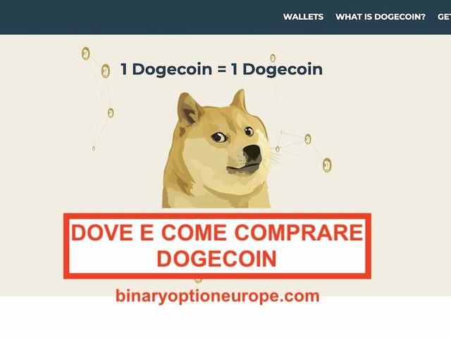 Come comprare Dogecoin in Italia [2021] Migliori piattaforme e Previsioni prezzo
