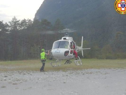 Si perde durante una escursione in Val Tramontina