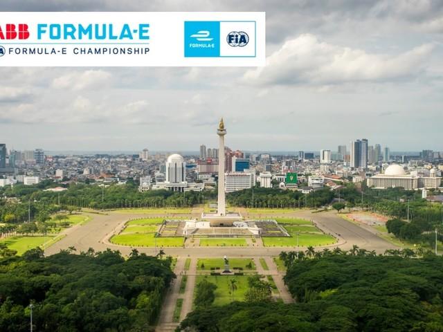 La Formula E ha confermato la gara indonesiana a Jakarta il 6 giugno