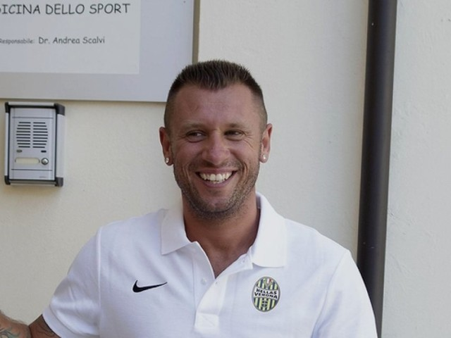 Antonio Cassano, la fantasia trova casa a Verona