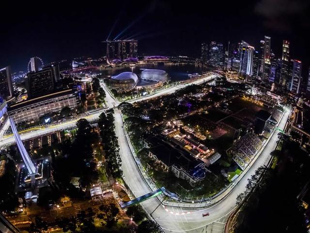 F.1, GP di Singapore - Si corre sul circuito cittadino di Marina Bay